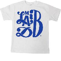 Madlib : Madlib x Parra T-shirts (WHITExBLUE/size-M)