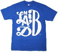 Madlib : Madlib x Parra T-shirts (BLUExWHITE)