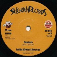 "JariBu Afrobeat Arkestra : BOMB - ultimate take / Panama (7"")"