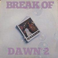 予約商品・DJ KAAMEN : BREAK OF DAWN 2 (MIX-CD)