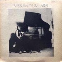 荒井由実 - Yumi Arai : ミスリム - Misslim (LP/USED/VG--)