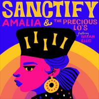 """AMALIA & PRECIOUS LO'S feat. BRIAN ELLIS : SANCTIFY (7""""/カヴァー・アート・ピクチャー・スリーヴ仕様)"""