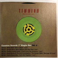 Various Artists : Timmion Records Singles Box, Vol. 4 (5x7inch Box Set)