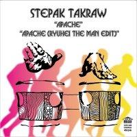 """STEPAK-TAKRAW : APACHE (RYUHEI THE MAN EDIT) (7"""")"""