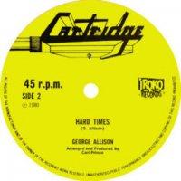 """George Allison : Hard Time (12"""")"""