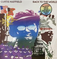 Curtis Mayfield : Back to the World (LP/color vinyl)