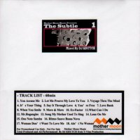 DJ Krutch / The Subtle vol.1  (MIX-CDR/紙ジャケット)