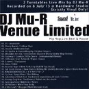 DJ Mu-R / Venue Limited (MIX-CDR)