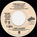 Janet Jackson / Come Back To Me 7