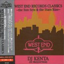 DJ KENTA / West End Records Classics - The Sun Sets & The Stars Rise (MIX-CD/数量限定Special Price)