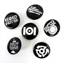 101 Apparel / 101 Pin Pack Black 6pcs set (ピンバッジ)