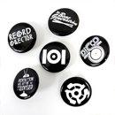 101 Apparel / 101 Pin Pack Black 6pcs set (ピンバッジ)