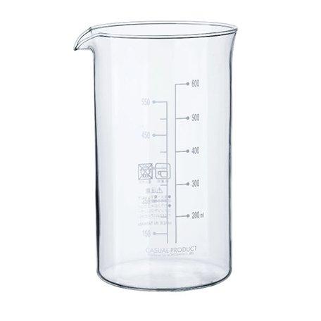コーヒー&ティーメーカー 4カップ用ガラス