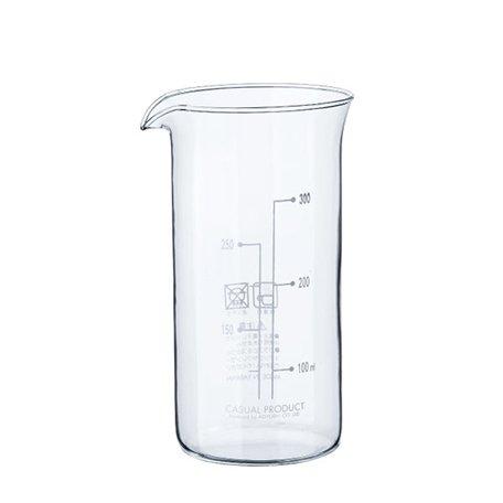 コーヒー&ティーメーカー 2カップ用ガラス