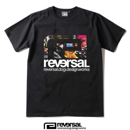 【REVERSAL×MINOR LEAGUE】 20th Anniversary【9616】TEE 【黒】