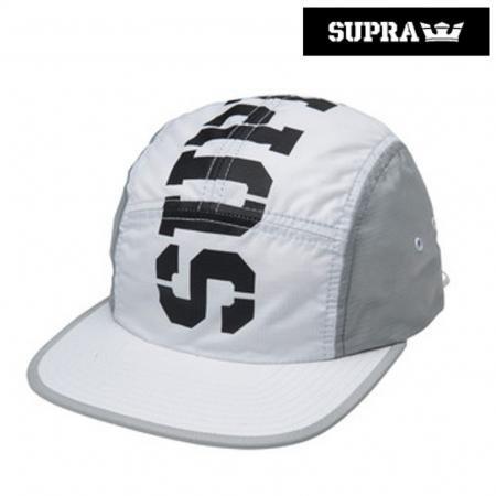 【SUPRA / スープラ】 MAJOR 5 PANEL CAP 【白】