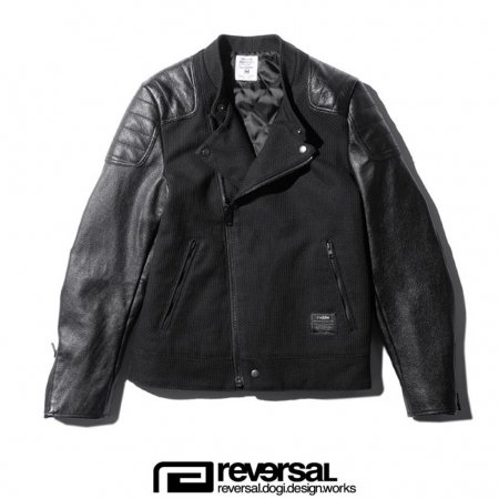 【REVERSAL】 GI RIDERS LEATHER JACKET