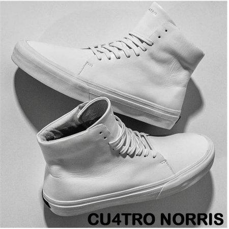 【CU4TRO / クアトロ】 NORRIS 【WHITE】