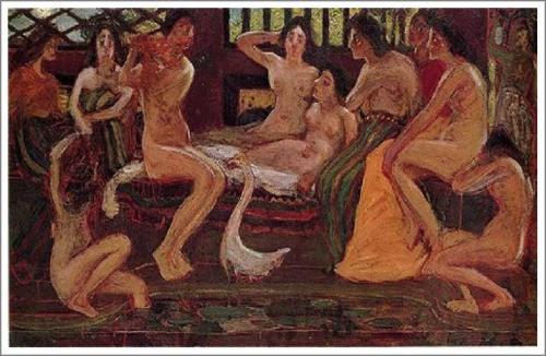 青木繁【天平時代】 - 絵画(油画複製画)販売 アート名画館
