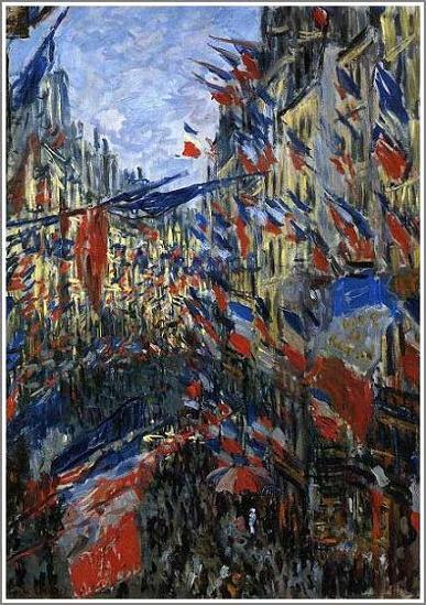 モネ【サン・ドニ街、1878年6月30日の祝日】 - 絵画(油画複製画)販売 ...