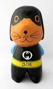 木彫り 犬 ヒーローアニマル(バットワン)