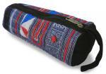モン族筒型ポーチ(B)[大きめで用途いろいろ持ち手付き、ちょっとした外出時のお出掛けポーチにも]