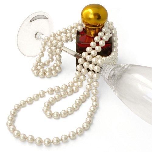 パール ネックレス 1連 ロングネックレス 真珠 グラスパール オールノット仕上げ(150cm 2連 3連 アレンジ可能)結婚式 卒業式 高見え ギフト