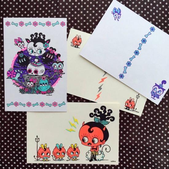 HARUN/ポストカード2枚セット