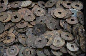 ●古銭 今日のお買取り商品は珍しい、古銭のお買取りでした!!