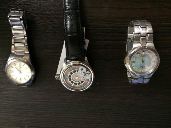 ジャンク時計を買いました。【画像1】