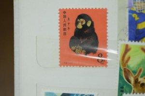 中国切手 赤猿をお買取り致しました!!