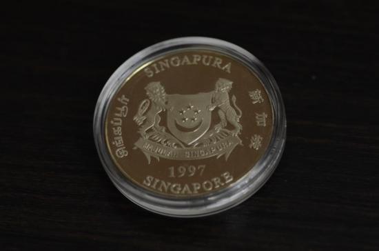 シンガポール10$銀貨をお買取り致しました!!【画像2】