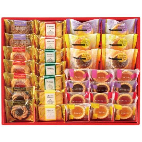 【香典返し 送料無料】中山製菓 ガトーセック 32個入 焼菓子詰合せ お菓子 洋菓子 スイーツセット SEC-30[4]