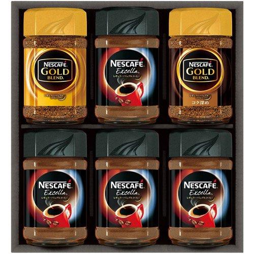 コーヒー ギフト セット 詰め合わせ ネスレ ネスカフェ レギュラーソリュブルコーヒーギフト  N30-XC (6)