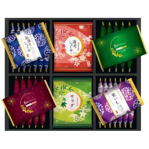 【メーカー包装済 外のし対応】お菓子 和菓子 せんべい ギフト セット 詰め合わせ 金澤兼六製菓 おいしさいろいろ(36枚) RGA-25 (10)