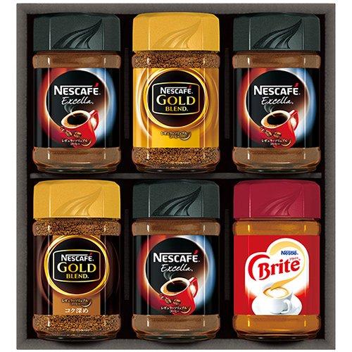 コーヒー インスタント ギフト セット 詰め合わせ ネスカフェ レギュラーソリュブルコーヒーギフト N30-XO (6)