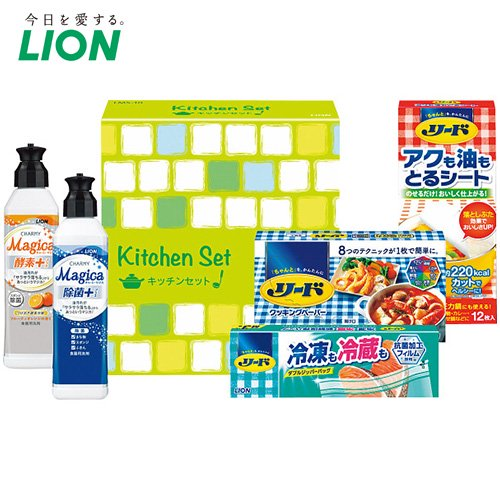 洗剤 ギフト セット ライオン キッチン マジカ 詰め合わせ LMS-10 (10)