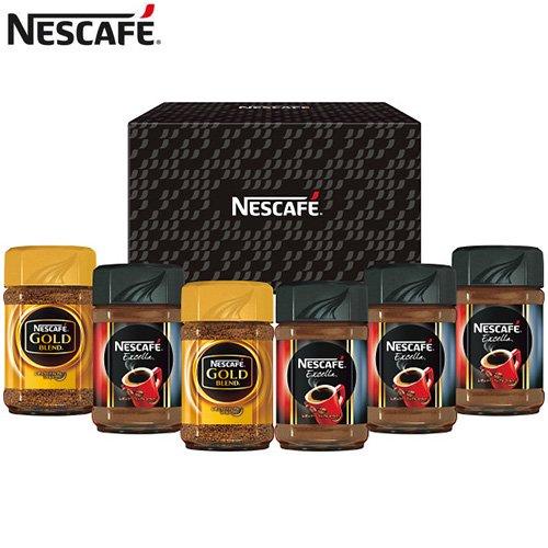 コーヒー ギフト セット ネスレ ネスカフェ レギュラー ソリュブル インスタント 詰め合わせ N30-E (6)