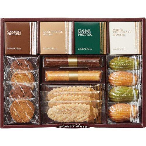 香典返し 送料無料 菓子 スイーツ お菓子 詰め合わせ ホテルオークラ 洋菓子 詰合せ GSH-30 (14) 食品 食べ物