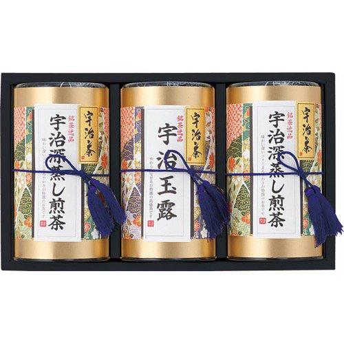 香典返し 送料無料 お茶 日本茶 宇治茶 茶葉 ギフト 芳香園製茶 宇治銘茶詰合せ HEU-1003 (4) 食品 食べ物