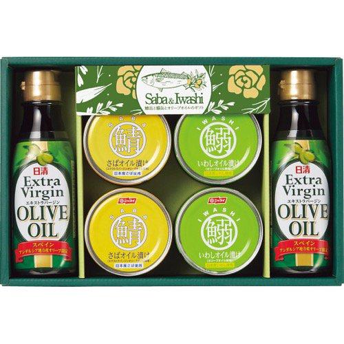 香典返し 送料無料 サバ缶 鯖缶 さば 缶詰 サバ 鯖缶と鰯缶とオリーブオイルのギフト SIO-30 (8) 食品 食べ物