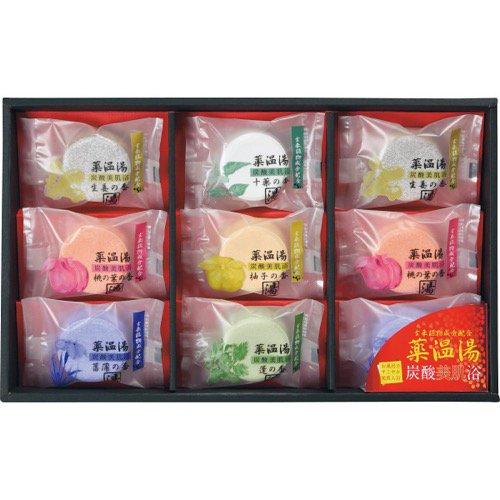 香典返し 送料無料 入浴剤 ギフト 詰め合わせ 薬温湯 炭酸 美肌浴 セット POD-15 (12)