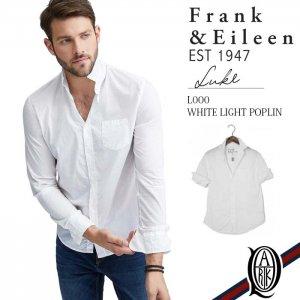Frank&Eileen LUKE L000 WHITE LIGHT POPLIN フランクアンドアイリーン ルーク