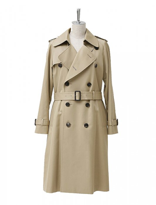 beautiful people ビューティフルピープル 16-17A/W ultimatepima long trench coat camelbeige