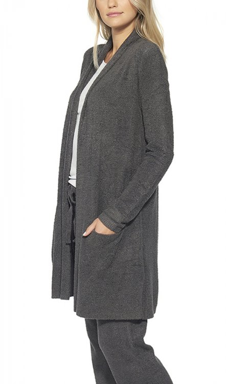 Barefoot Dreams ベアフットドリームス 428 Essential Long Cardigan d.brown  サブイメージ