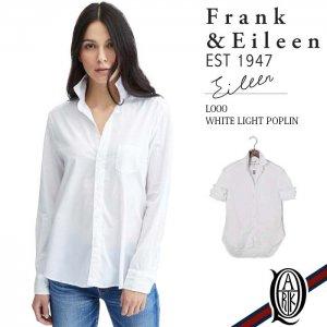 Frank&Eileen EILEEN L000 レディースシャツ CORE LIGHT POPLIN WHITE  (フランクアンドアイリーン エイリーン)
