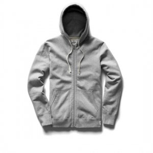 REIGNING CHAMP レイニングチャンプ フルジップパーカー H.GREY RC-3205 MIDWEIGHT TERRY