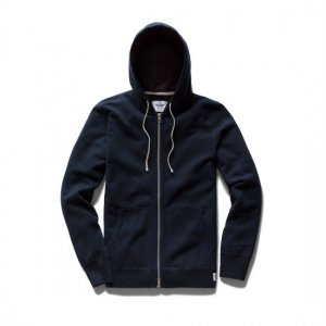 REIGNING CHAMP レイニングチャンプ フルジップパーカー NAVY RC-3205 MIDWEIGHT TERRY