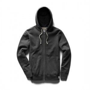 REIGNING CHAMP レイニングチャンプ フルジップパーカー CH.GREY RC-3205 MIDWEIGHT TERRY
