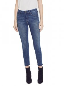 MOTHER DENIM マザーデニム High Waisted Looker Ankle Fray ハイウエストスキニージーンズ Not Rough Enough